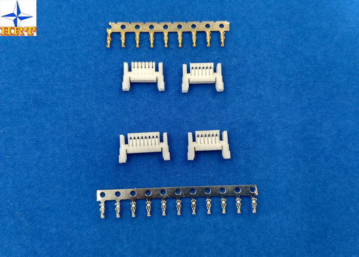 6 positions 1.00mm Pitch CI14 Crimp Wire To Board Connectors PA66 Material For Home Appliances